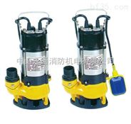 220V家用潜水泵配浮球自动3寸铸铁排水泵