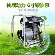 矿用大流量6寸柴油机排污泵