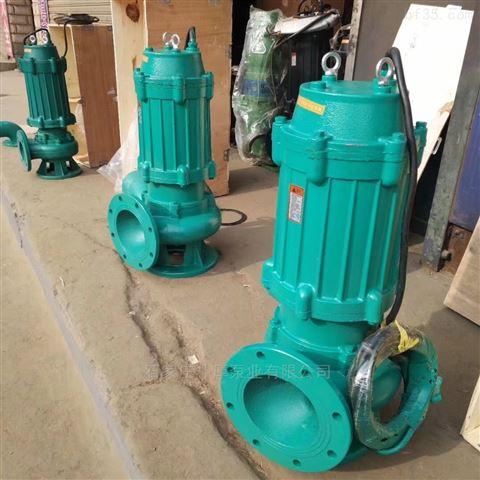 污水泵150WQ140-18-15型潜水排污泵厂家