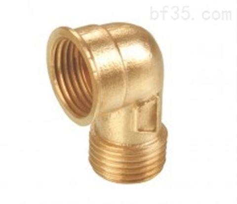 1216 90°黃銅內外螺紋彎頭