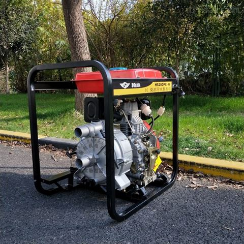 2寸柴油機污水泵揚程和流量