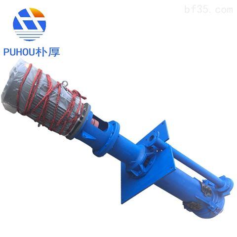 水泵朴厚立式液下渣浆泵性能参数表