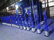 专业生产DMZ673H气动暗杆式刀形闸阀