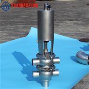 不銹鋼兩位四通氣動焊接換向閥