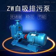 3HP无堵塞自吸泵 卧式排污泵