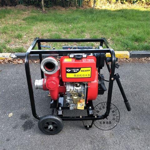 上海翰絲HS30FP柴油機高壓消防泵