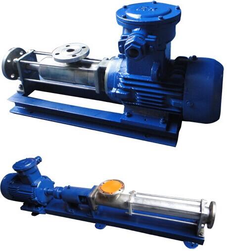G型单螺杆泵工作原理应用及选型