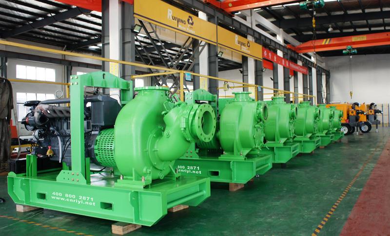 瑞营水泵机组助力智利矿山排水工程